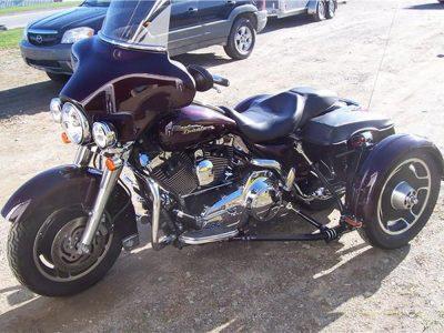 Harley-Davidson FLHX Street Glide, 2008