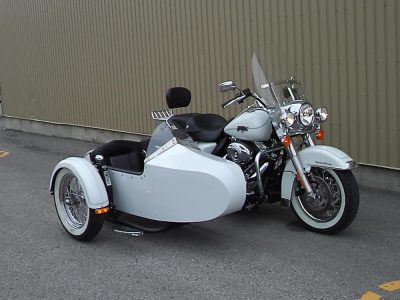 Harley FLH + sidecar TM-201