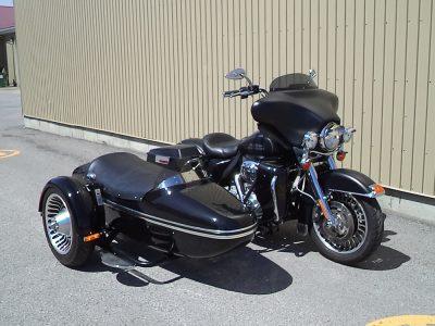 Harley FLH + sidecar TM-301