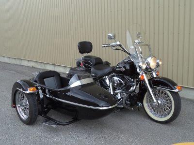 Harley Softail Heritage + sidecar TM-301
