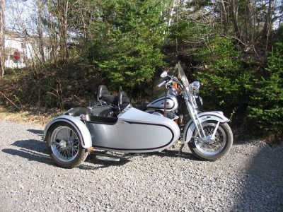 Side-Car TM-201 & Harley-Davidson Softail Heritage Springer 1999