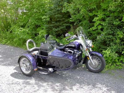 Side-Car TM-201 & Yamaha Road Star 1600, 2002