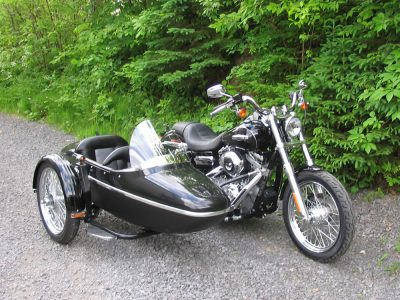Side-Car TM-301 & Harley-Davidson FXDC Dyna Custom 2009