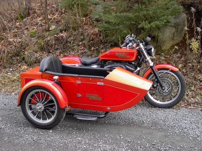 Side-Car TM-401 & Harley-Davidson XLH883R Sportster, 2007 modifié TM-16J (1916)