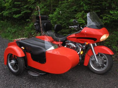 Side-Car TM-504 & Harley-Davidson FLH Road Glide 2008