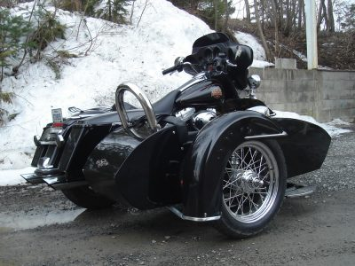 Side-Car TM-601 & Harley-Davidson FLH 2006