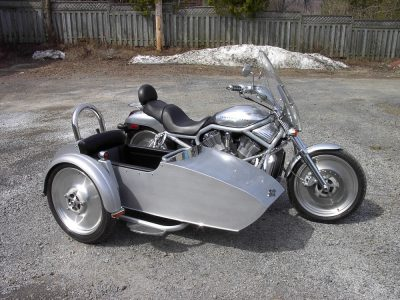Side-Car TM-602 & Harley-Davidson V-Rod 2002