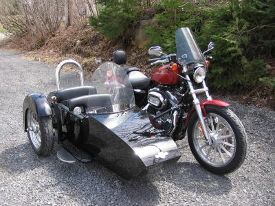 Side-Car TM-602 & Harley-Davidson XLH 883 Sportster 2006