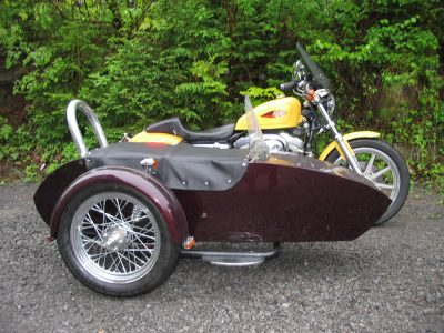 Side-Car TM-602 & Harley-Davidson XLH Sportster 1200