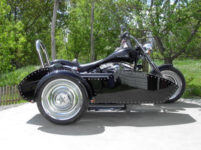 Side-Car TM-603 & Harley-Davidson Softail Deuce 2002