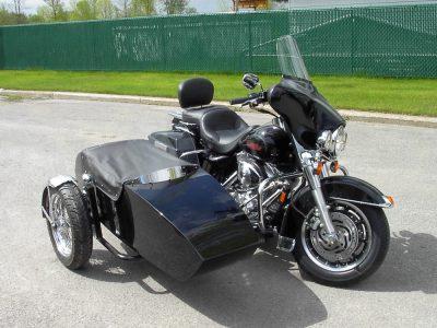 Side car TM-601, 2004 - Harley-Davidson Electra Glide FLHTC 2005