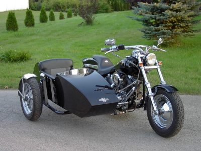 Side car TM-601, 2004 - Harley-Davidson Softail