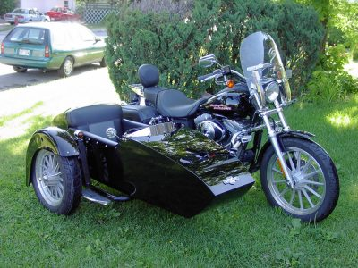 Side car TM-602, 2005 - Harley-Davidson Dyna Super Glide 2005