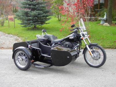 TM-501 with low profile frame - H-D Softail Night train 2006
