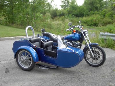 TM-504 with low profile frame, double seat - H-D Dyna 1994
