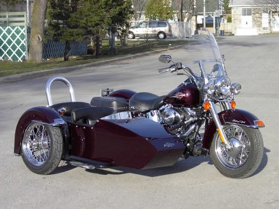 TM-602 low profile frame, roll bar & H-D FLH fender- H-D Heritage Softail 2005