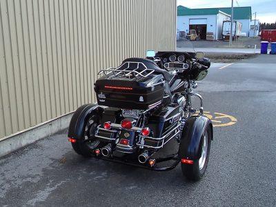 Harley FLH + Triax TM-342-M