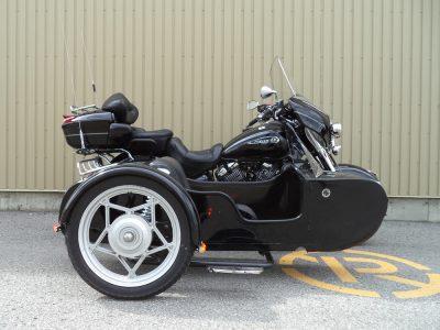 Yamaha Royal Star + sidecar Bimmer M-102