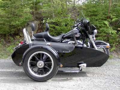 Harley-Davidson FLHTC + Side-car TM-60