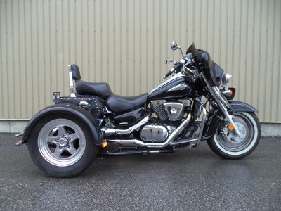 Suzuki Intruder 1500 + Triak TM-342-M
